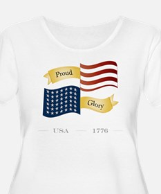 American Pride and Glory Plus Size T-Shirt