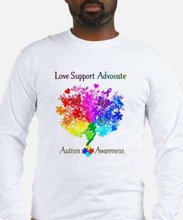 Autism Spectrum Tree Long Sleeve T-Shirt