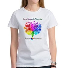 Autism Spectrum Tree Tee