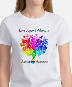 Autism Spectrum Tree Women's T-Shirt