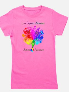 Autism Spectrum Tree Girl's Tee