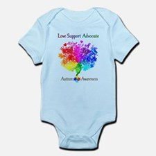 Autism Spectrum Tree Infant Bodysuit