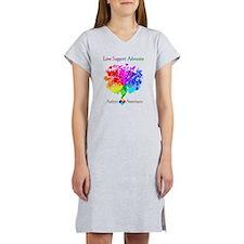Autism Spectrum Tree Women's Nightshirt