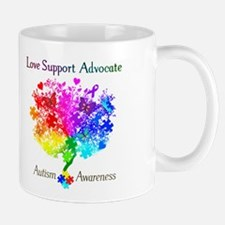 Autism Spectrum Tree Mug