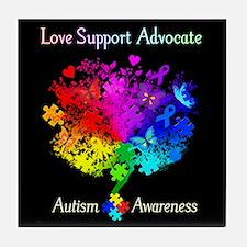 Autism Spectrum Tree Tile Coaster