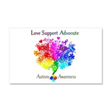 Autism Spectrum Tree Car Magnet 20 x 12