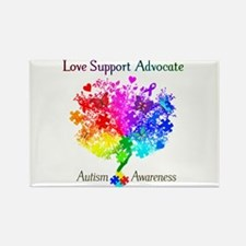 Autism Spectrum Tree Rectangle Magnet (10 pack)