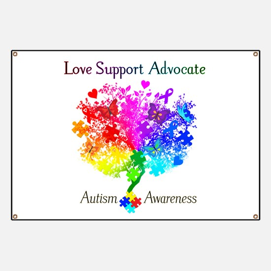 Autism Spectrum Tree Banner