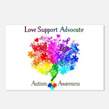 Autism Spectrum Tree Postcards (Package of 8)