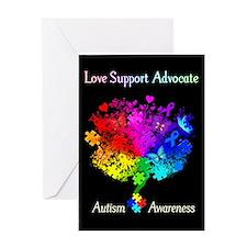 Autism Spectrum Tree Greeting Card