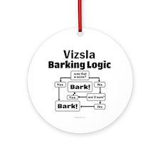 Vizsla Logic Ornament (Round)