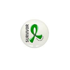 Spinal Cord Injury Survivor Mini Button (10 pack)