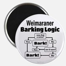 Weim Bark Logic Magnet
