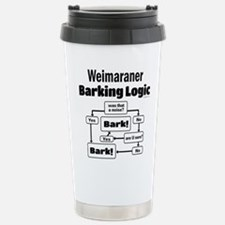 Weim Bark Logic Stainless Steel Travel Mug