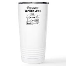Weim Bark Logic Travel Mug