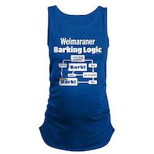Weim Bark Logic Maternity Tank Top
