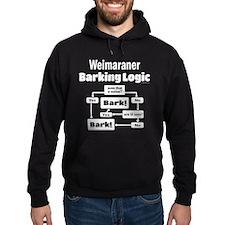 Weim Bark Logic Hoodie