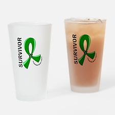 TBI Survivor 12 Drinking Glass