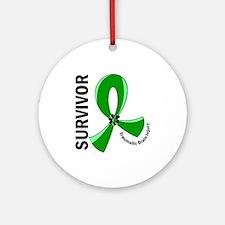 TBI Survivor 12 Ornament (Round)