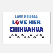 Melissa Postcards (Package of 8)