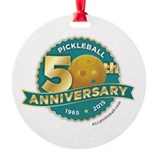 Pickleball Anniversary Ornament