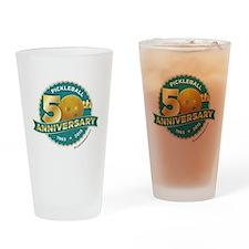 Pickleball Anniversary Drinking Glass