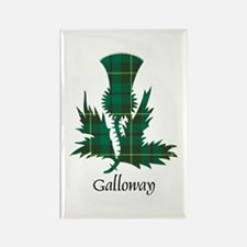 Thistle - Galloway dist. Rectangle Magnet