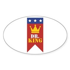 Dr. King Decal