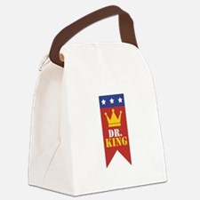 Dr. King Canvas Lunch Bag