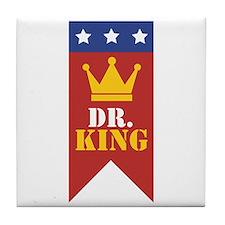 Dr. King Tile Coaster