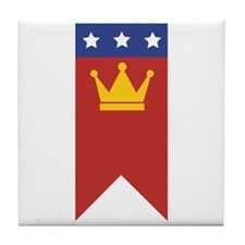 MLK Banner Tile Coaster