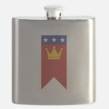MLK Banner Flask