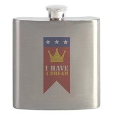 I Have A Dream Flask