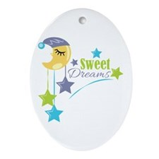 Sweet Dreams Ornament (Oval)