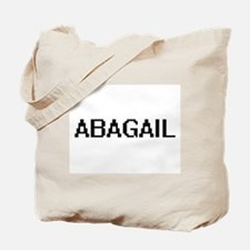 Abagail Digital Name Tote Bag
