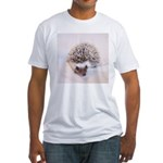 Prima the Hedgehog Fitted T-Shirt