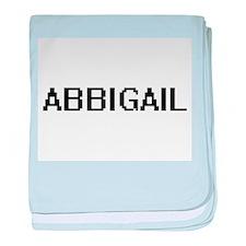 Abbigail Digital Name baby blanket