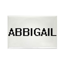 Abbigail Digital Name Magnets