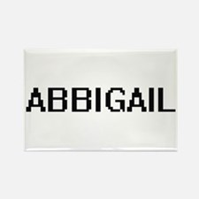 Abbigail Digital Name Magnets