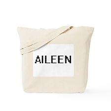 Aileen Digital Name Tote Bag