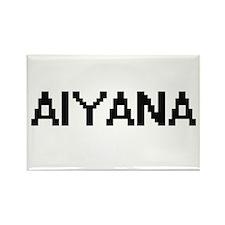 Aiyana Digital Name Magnets