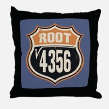 Square Root 66 Throw Pillow