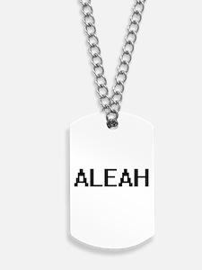 Aleah Digital Name Dog Tags