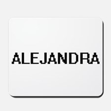 Alejandra Digital Name Mousepad