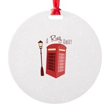 A Ring Away Ornament
