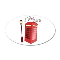 A Ring Away Wall Decal