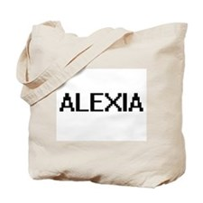 Alexia Digital Name Tote Bag