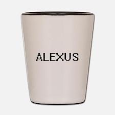 Alexus Digital Name Shot Glass