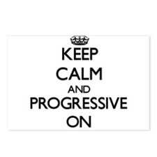 Keep Calm and Progressive Postcards (Package of 8)