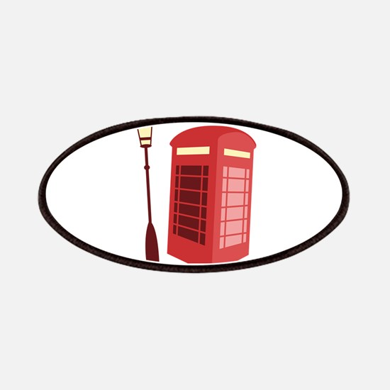 Red Phone Booth Patch